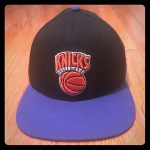 New York Knicks Throwback Logo Snapback 47' Brand